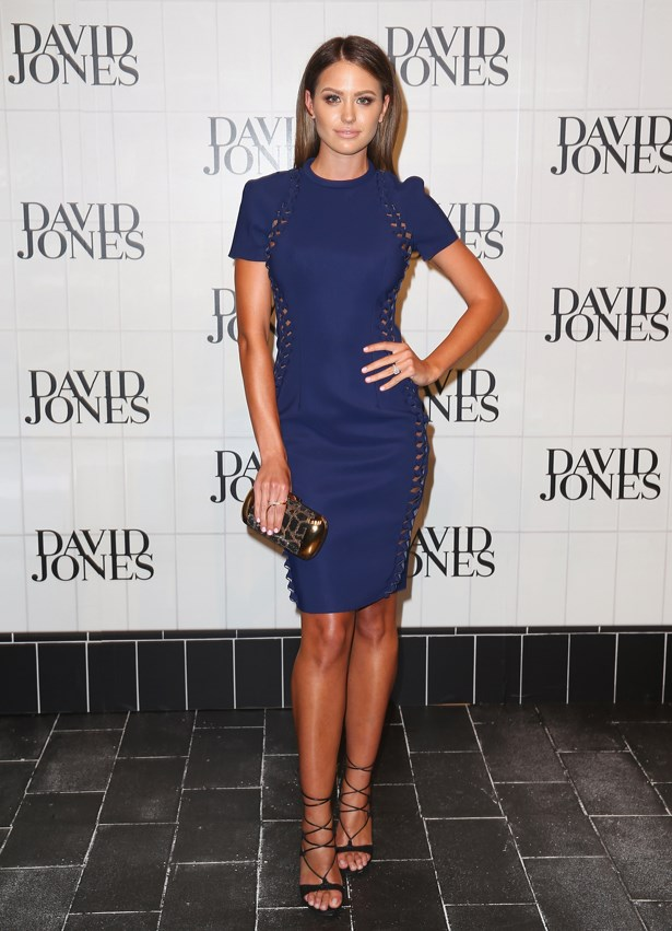 In Dion Lee at the David Jones Autumn/Jones 2015 Launch.