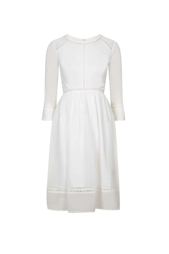 "<a href=""http://www.topshop.com/en/tsuk/product/clothing-427/dresses-442/puritan-midi-dress-5248837?bi=40&ps=20"">Dress, approx. $158, Topshop</a>"