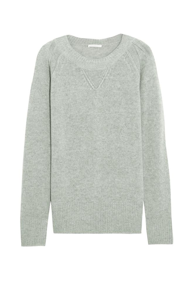 """Knowing I can rug up in a cosy cashmere jumper is about the only thing that gets me out of my warm bed on chilly winter mornings. And this beauty from Chloé would certainly entice me to skip snooze."" – <em>Janna Johnson O'Toole, beauty and fitness director</em><br> <a href=""https://www.net-a-porter.com/au/en/product/650779"">Cashmere sweater, $1310, Chloé at net-a-porter.com</a>"