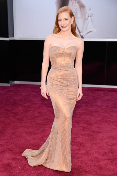 Photo Evidence That Jessica Chastain Is The Ultimate Modern Day Hollywood Icon