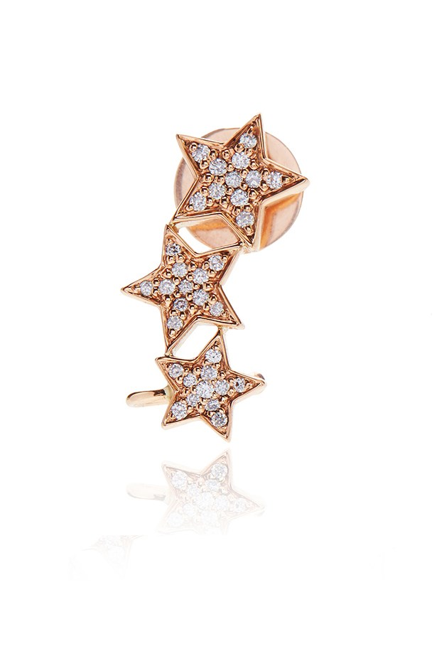 "<a href=""http://alinkajewellery.com/boutique/earrings/stasia-tripple-star-diamond-earring/"">Stasia triple star diamond earring, $1500, Alinka at alinkajewellery.com</a>"