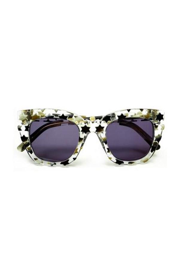 """<a href=""""https://www.alteriormotif.com.au/shop/designers/pared-eyewear/sugar-spice-clear-stars"""">Sugar & spice — clear stars, $240, Pared Eyewear at alteriormotif.com.au</a>"""