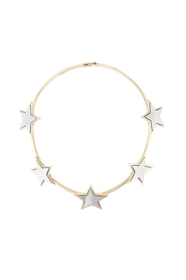 """<a href=""""http://www.farfetch.com/uk/shopping/women/Givenchy-star-necklace-item-11351826.aspx?storeid=9306&size=17&origin=product-search&bfdqbt=%7Bkeyword%7D&source=%7Bifpla:pla%7D%7Bifpe:pe%7D&src=linkshare"""">Star necklace, $1457, Givenchy at farfetch.com </a>"""