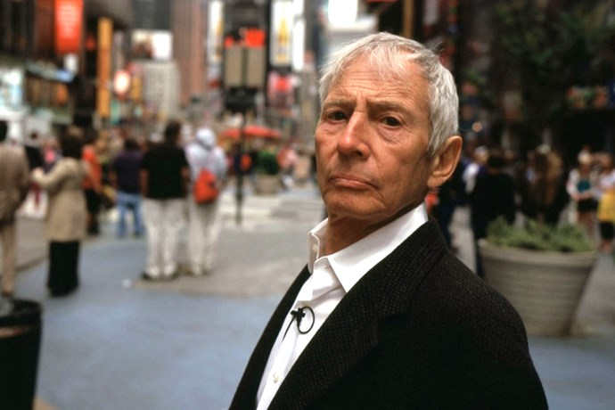 "<i><b>The Jinx</b></i><br> ""A mini-series about real-estate heir turned suspected murderer Robert Durst. I watched all the episodes in one sitting—truly enthralling and terrifying. There's something about his eyes that is so creepy."" – <em>Laura Culbert, acting chief sub-editor</em>"
