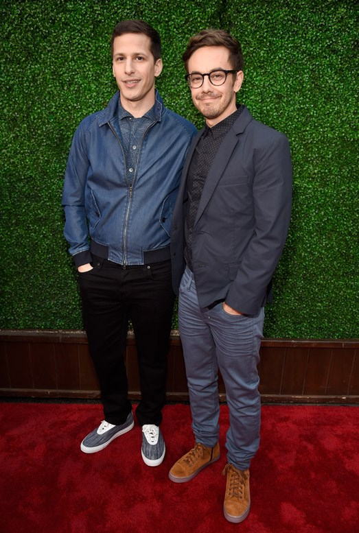 Andy Samberg and Jorma Taccone