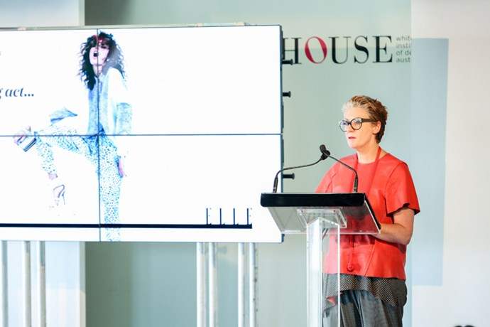 Karen Webster from the Whitehouse Institute of Design speaks on innovation.