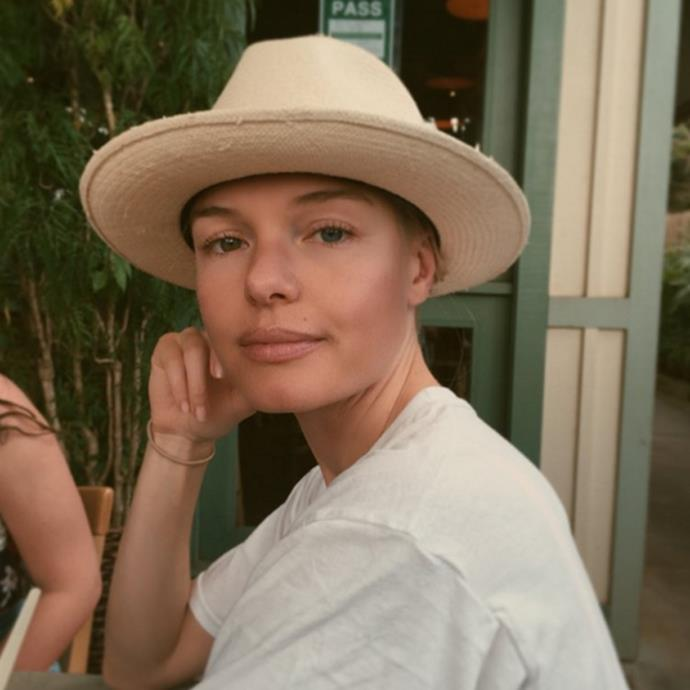 Kate Bosworth does a nude lip, as photographed by her husband Michael Polish. <br><br><em>Image credit: Instagram/@michaelpolish</em>