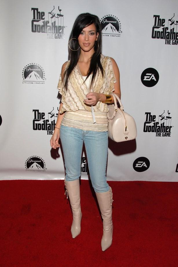 Those hoops, Kim...