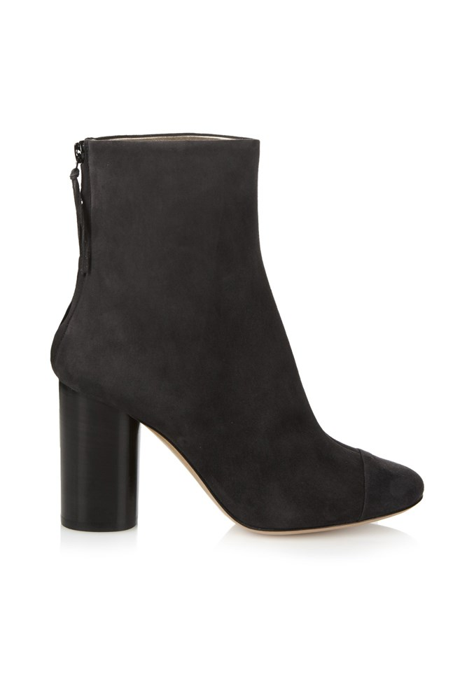 "<a href=""http://www.matchesfashion.com/au/products/Isabel-Marant-Grover-suede-ankle-boots-1023733"">Boots, $660, Isabel Marant at matchesfashion.com</a>"