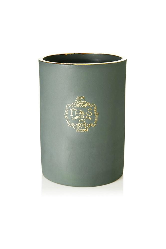 "<a href=""https://www.net-a-porter.com/au/en/product/612921/Joya/foxglove-scented-candle-260g"">Foxglove Scented Candle, $104, Joya at net-a-porter.com</a><br><br> <em>Notes: Saltmeadow Cordgrass, Hyacinth Leaves, Jasmine and White Cedar.</em>"