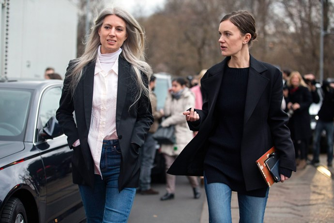 Street style blazers
