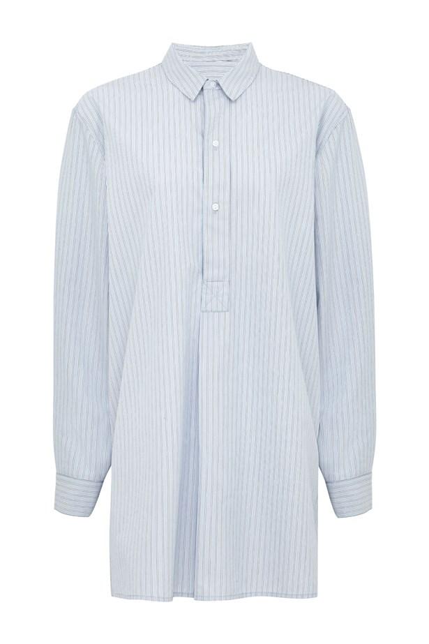 """<a href=""""http://www.marksandspencerlondon.com/au/the-edna-shirt/p/P60081606.html?dwvar_P60081606_color=E7"""">The Edna Shirt, AU $67.00</a>."""