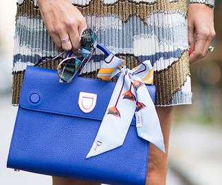 Put a bow on it: Dior's 'Diorever' handbag