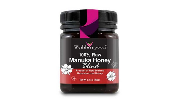 """<p> <strong>Raw honey</strong><p> <p> By the same token, adding a few drops of raw honey to your before-bed moisturiser can help it penetrate deeper into the cells thanks to humectant super powers – which basically means it's really good at attracting and retaining moisture. <a href=""""http://shop.wedderspoon.com/wedderspoon-raw-manuka-blend-250g-8-8oz/"""">Wedderspoon 100% Raw Manuka Honey</a>, $18.49"""