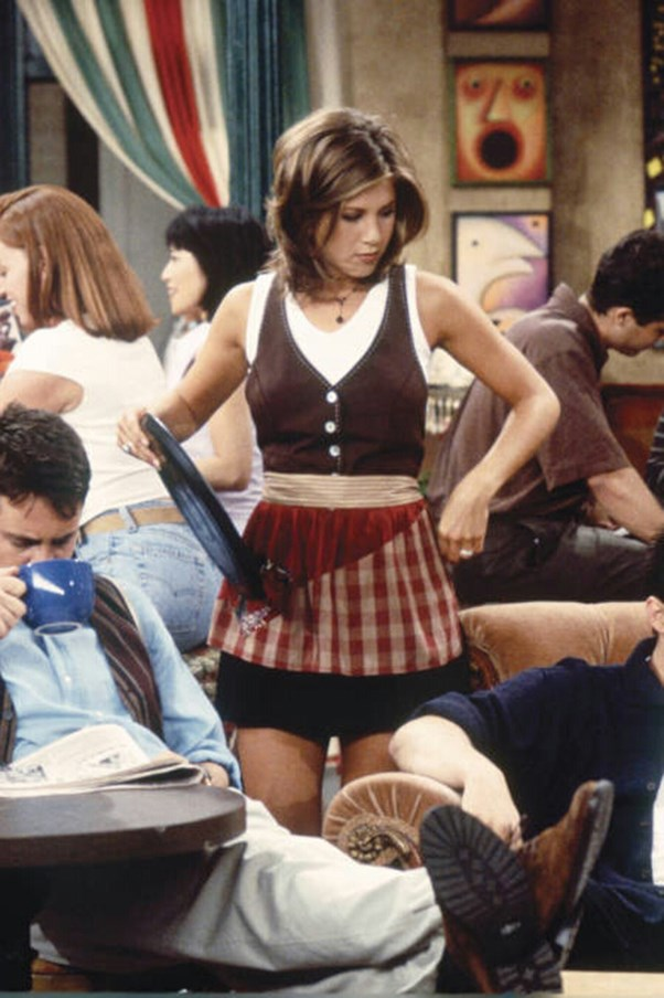 Damn Rachel, back at it again with the pleated skirts.