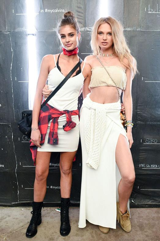<strong>TAYLOR HILL AND ROMEE STRIJD</strong>