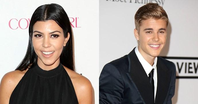 Justin Bieber Kourtney Kardashian dating