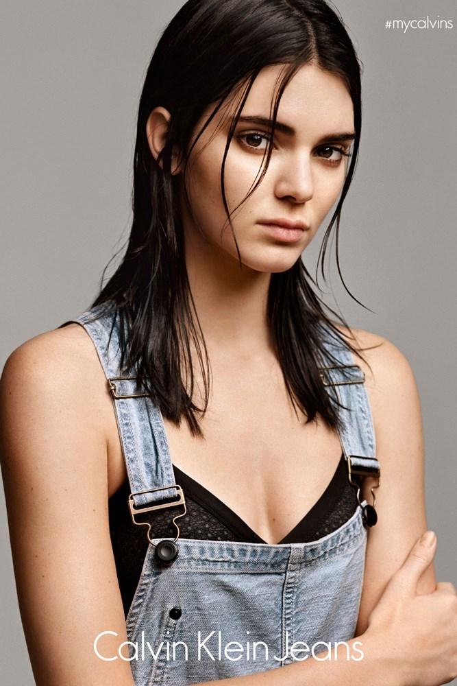 Kendall Jenner Calvin Klein #mycalvins