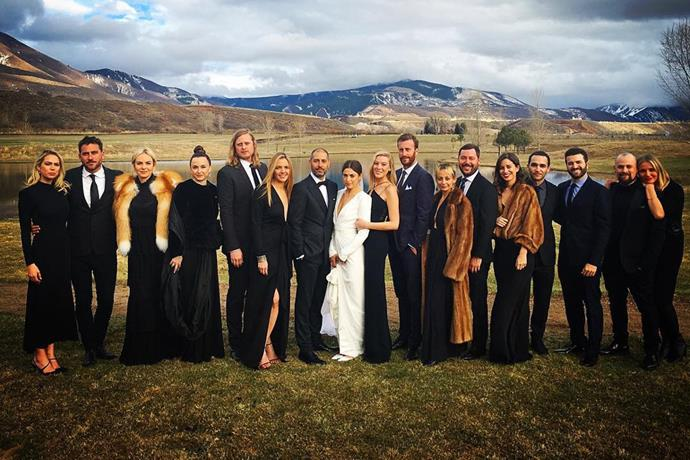 **Nicole Richie** <br><br> The wedding looked to be a star-studded affair, with some of Hollywood's biggest names in attendance, including Cameron Diaz, Benji and Joel Madden, Katy Perry, Orlando Bloom, Kate Hudson, Jessica Alba, Rachel Zoe and Dianna Agron.