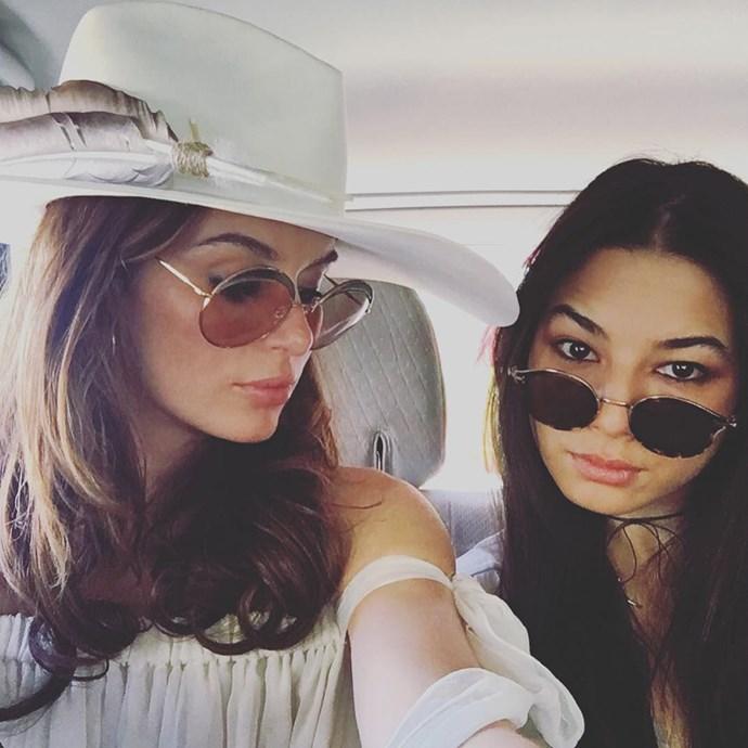 """Nicole Trunfio and Jessica Gomes<br><br><a href=""""http://www.instagram.com/nictrunfio"""">Instagram.com/nictrunfio</a>"""