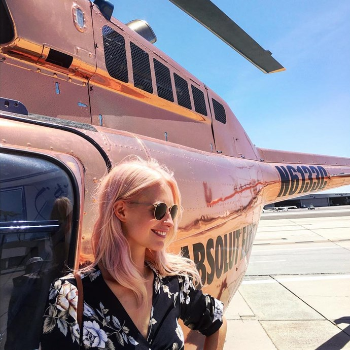 """Poppy Delevingne <br><br><a href=""""http://www.instagram.com/poppydelevingne"""">Instagram.com/poppydelevingne</a>"""