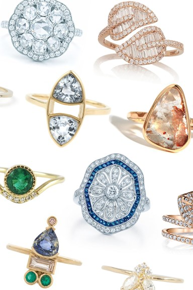 32 Alternative Engagement Rings For The Non-Traditional Bride