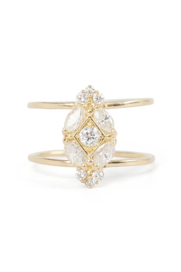 "<a href=""https://www.catbirdnyc.com/jewelry/rings/vena-amoris-ring.html"">Blanca Monrós Gómez Vena Amoris Ring</a>, $3,790."
