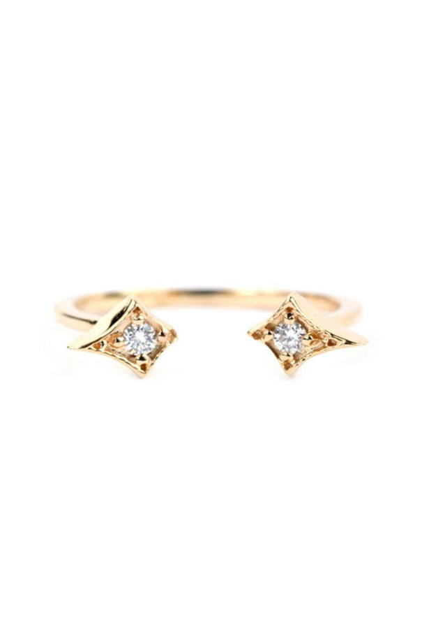 "<a href=""http://katiediamondjewelry.com/collections/fine-jewelry/products/athena-ring"">Katie Diamond Jewelry Athena Ring</a>, $860 AUD."