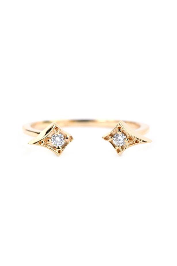 "<a href=""http://katiediamondjewelry.com/collections/fine-jewelry/products/athena-ring"">Katie Diamond Jewelry Athena Ring</a>, $860 AUD."