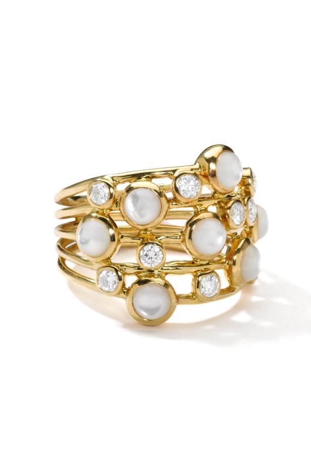 "<a href=""http://www.ippolita.com/lollipop-18k-gold-constellation-ring-with-diamonds-1?___store=default"">Ippolita Lollipop Constellation Ring</a>, $3,850."