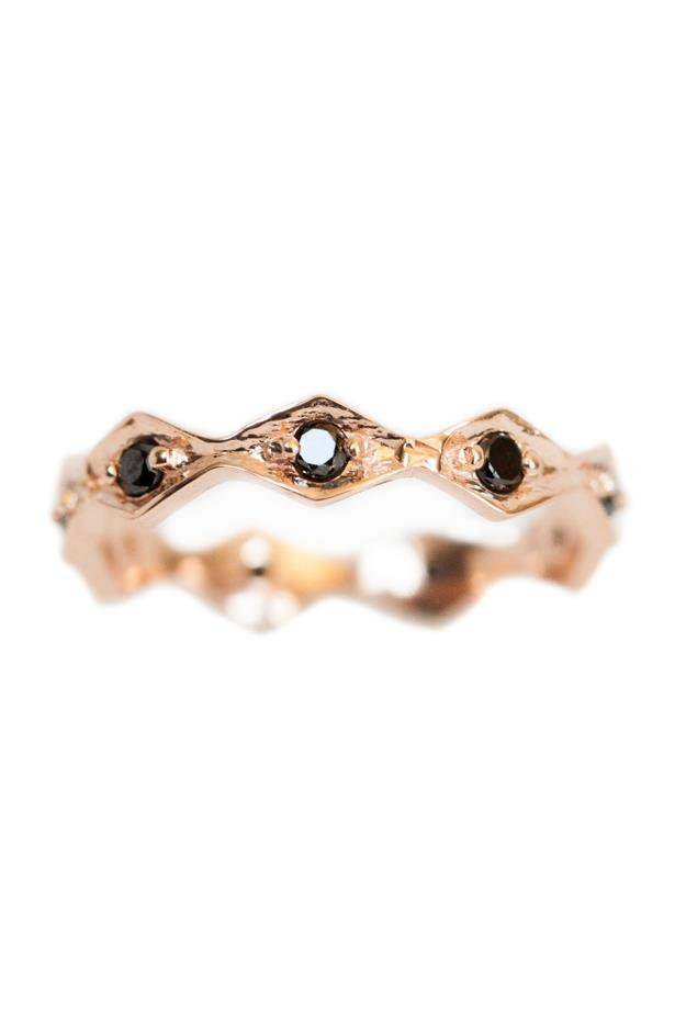 """<a href=""""http://onejewelrylosangeles.com/shop/rings/celine-2/"""">One Jewelry Celine Ring</a>, $840 AUD."""