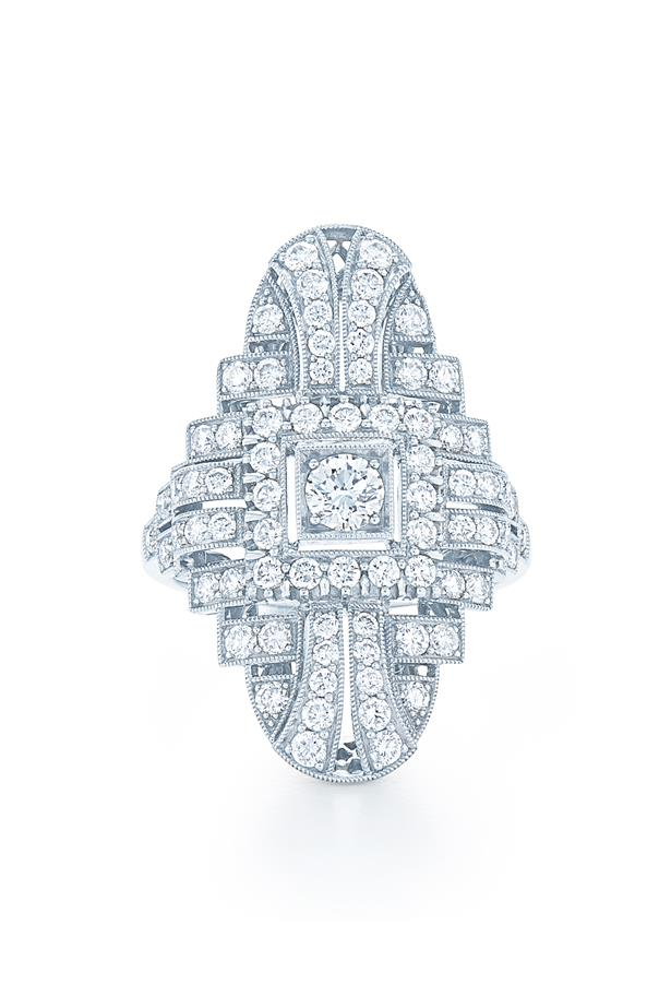 """Kwait Vintage Collection Ring, AUD $11100 at [KWAIT](https://fave.co/3xHEYdp