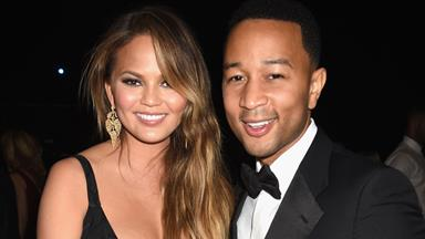 Chrissy Teigen Shares The First Photo Of Baby Luna