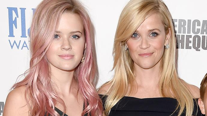 **Reese Witherspoon and Ava Phillippe**