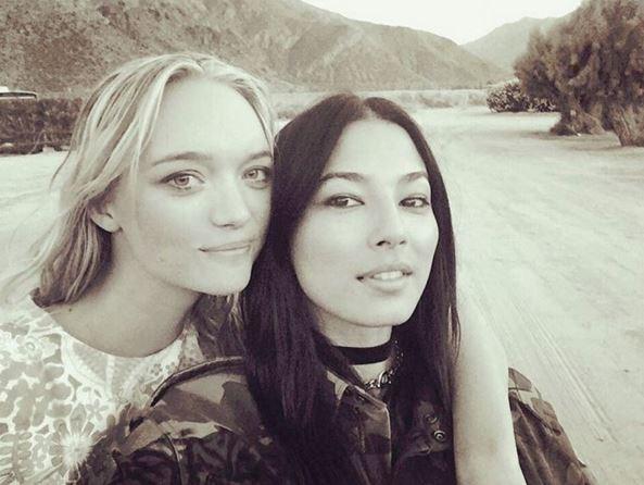 "<p> Models Gemma Ward and Jessica Gomes served as Nicole's bridesmaids for the day.<p> <p> Image via <a href=""https://www.instagram.com/iamjessicagomes/"">Jessica Gomes' Instagram</a>."