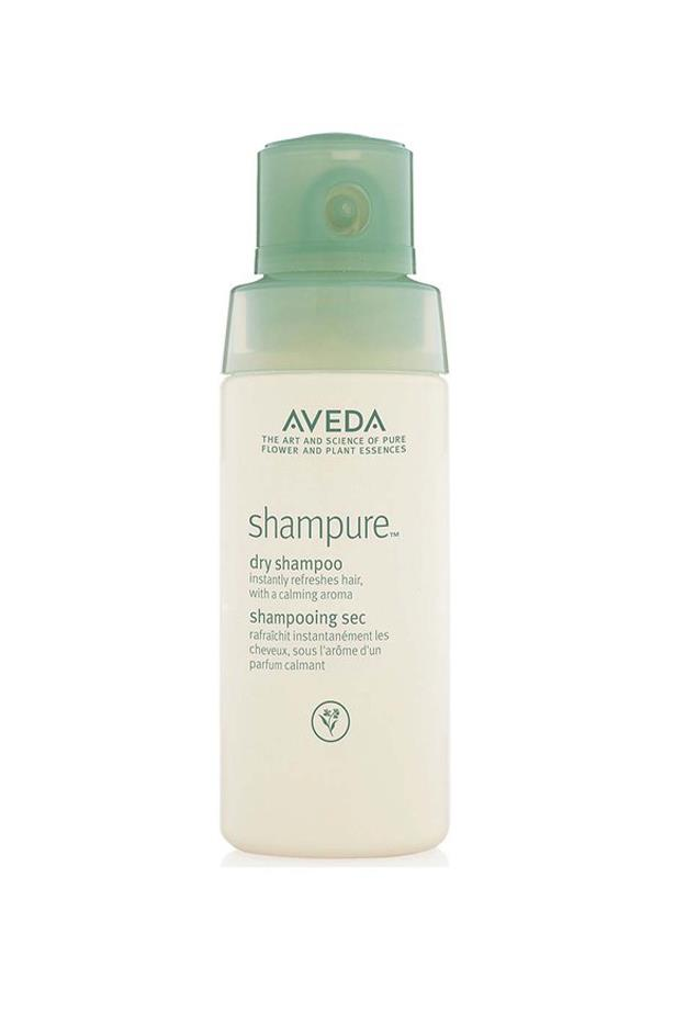 """<p> The No-Aerosol Hair Volumiser<p> <p> Think of dry shampoo as the blue jean of your hair regimen - an essential. This one is made of 99.8 per cent natural ingredients and it comes in non-aerosol packaging, sending it to the top of the class. The fine powder absorbs excess oil between washes, or you can use it on clean hair for a little guts with your crowning glory.<p> <p> <a href=""""http://www.aveda.com.au/product/5249/37298/Collections/ShampureTM/Shampure-Dry-Shampoo/index.tmpl"""">Shampure Dry Shampoo, $30, Aveda at aveda.com.au</a>"""