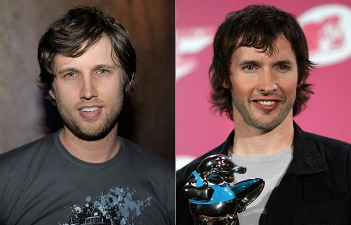 Jon Heder and James Blunt