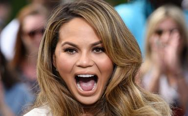 Chrissy Teigen Shares Some Home Truths About Childbirth