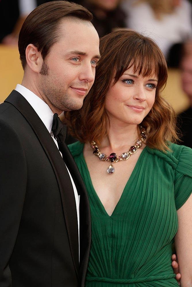 Alexis Bledel with husband Vincent Kartheiser.