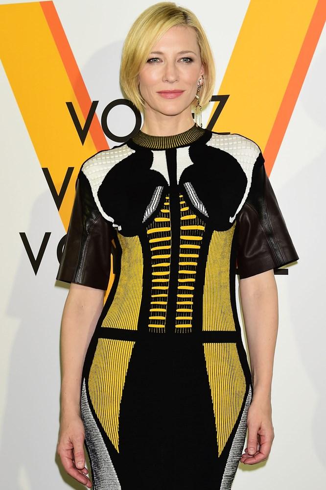 Cate Blanchett  Louis Vuitton 'Volez, Voguez, Voyagez' Exhibition