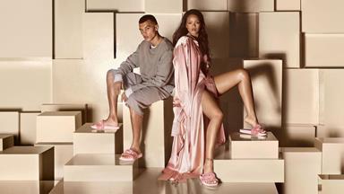 Rihanna Is Making Slides Cool