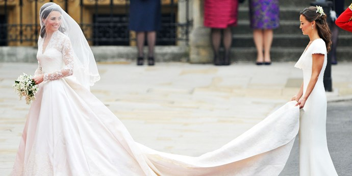 Kate Middleton wedding dress.