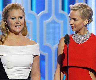 Amy Schumer has put paid to the alleged niceness of soon-to-be co-star Jennifer Lawrence, saying she's actually one of the meanest people in the business in a video skit for Vanity Fair