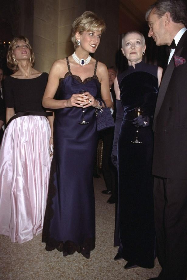 Diana, Princess of Wales, 1996.