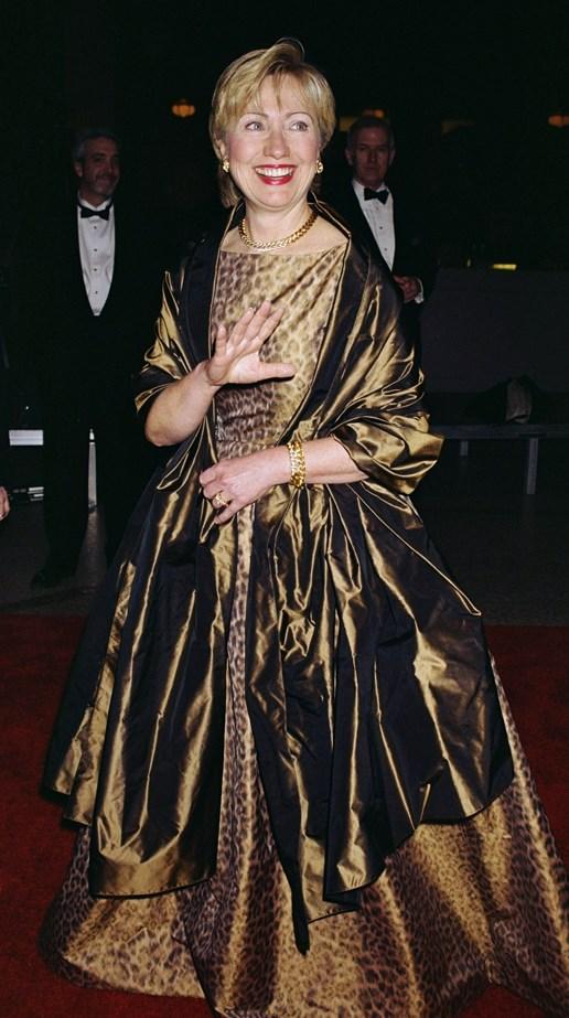 Hillary Rodham Clinton, 2000.