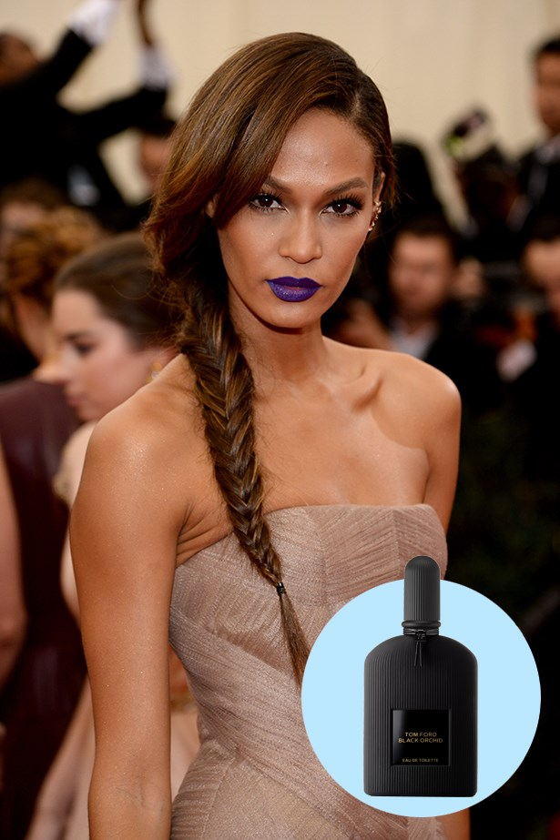 """<p> <strong>Joan Smalls</strong> <p> """"Anything by Tom Ford… .Black Orchid. I love how dark they are – they're not as feminine as a lot of fragrances but they still have a sweetness."""" <p> Black Orchid EDT, $135 for 50ml, Tom Ford, 1800 061 326"""