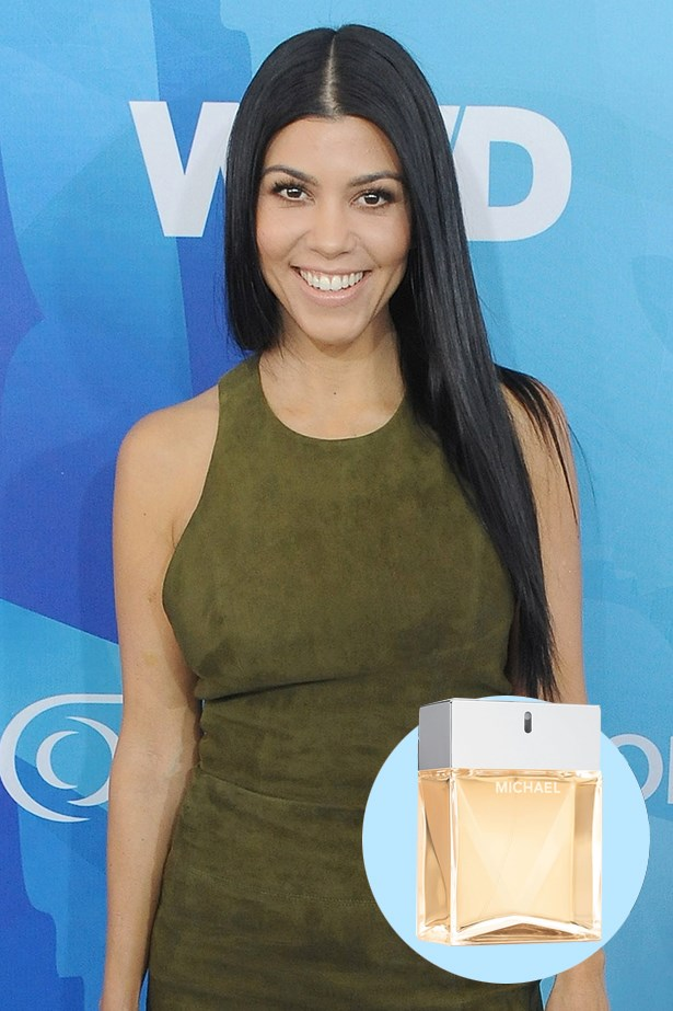 """<p> <strong>Kourtney Kardashian</strong> <p> """"I like to switch my perfume with the seasons. In fall/winter I love Michael by Michael Kors."""" <p> Michael EDP, $185 for 100ml, Michael Kors, 1800 061 326 <p>"""