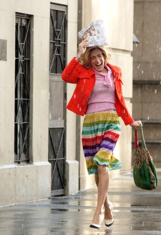 Singin' in the rain(bow).