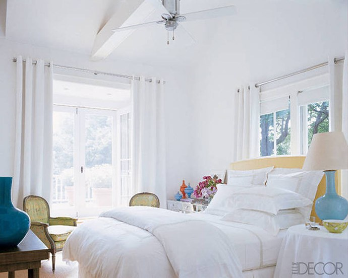 "Sarah Jessica Parker, via <a href=""http://www.elledecor.com/celebrity-style/celebrity-homes/g1594/the-comfort-factor/"">ELLE Decor</a>."