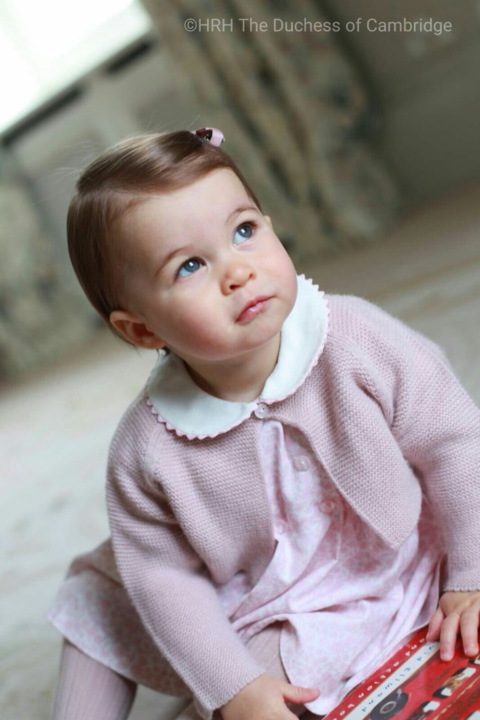 Princess Charlotte portrait 2016.